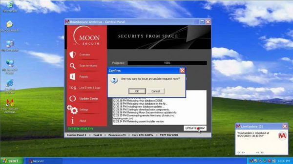 Moon Secure Antivirus
