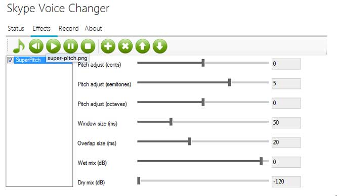 Software Skype Voice Changer