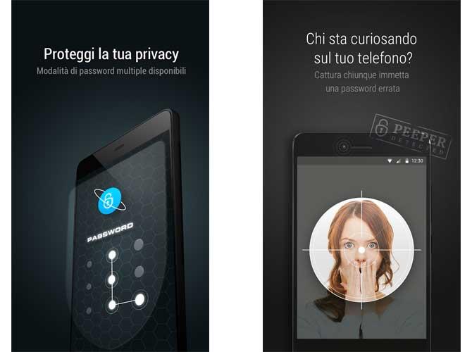 App CM Locker Sicurezza