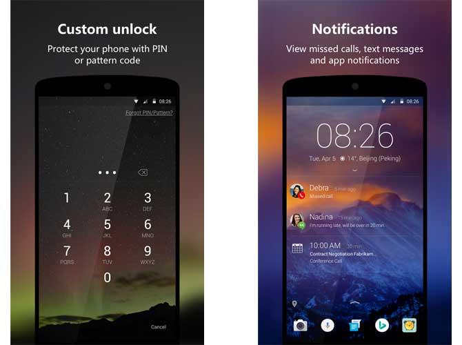 App Next Lock Screen