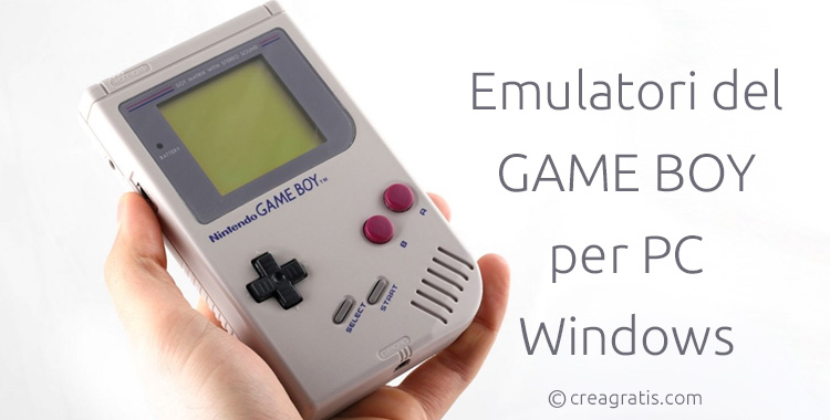 Emulatori del Game Boy per PC Windows