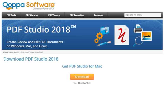 PDF Studio 2018