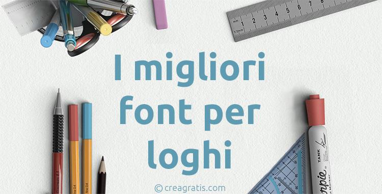 I migliori font per loghi