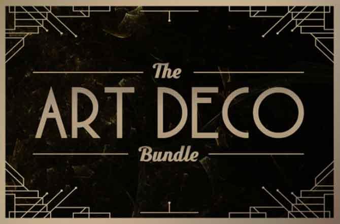 art deco bundle