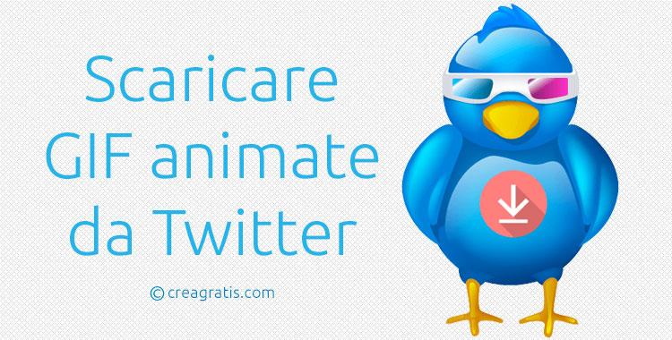 Siti per scaricare GIF da Twitter online