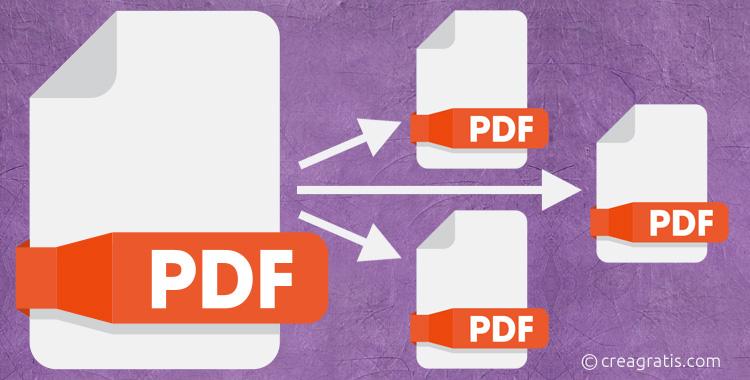 Siti per dividere PDF online