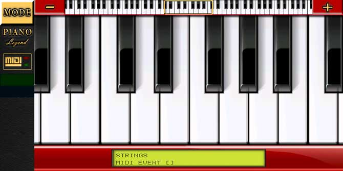 Piano MIDI Legend