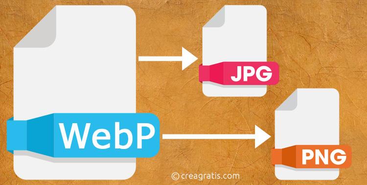 Salvare immagini WebP in JPG e PNG con Chrome