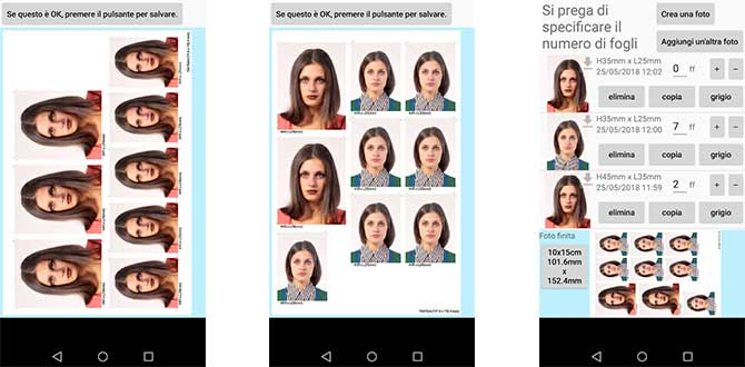 App Fototessera