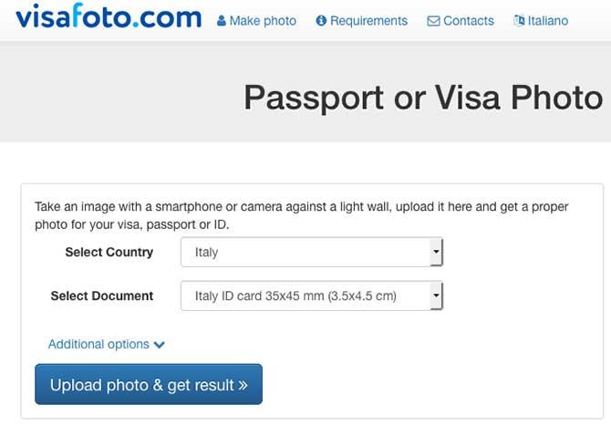 Visafoto