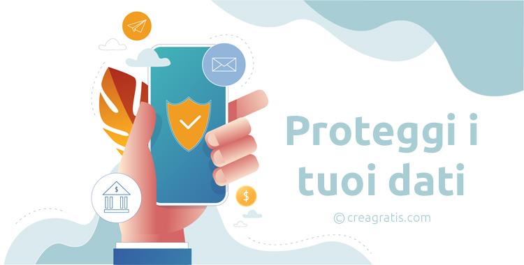 Protezione dei dati su dispositivi mobili